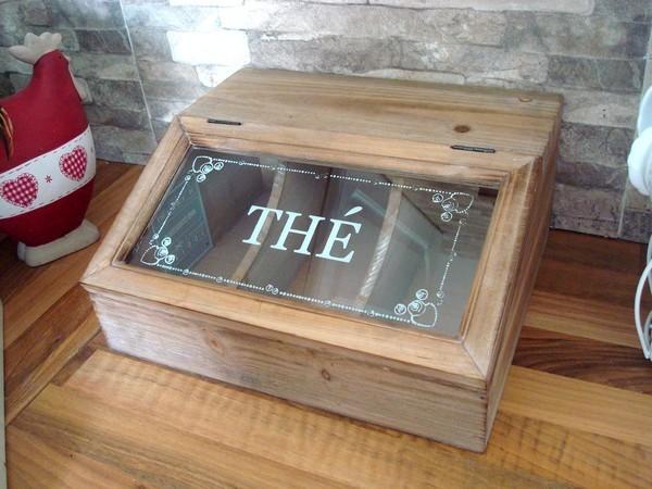 range couverts en bois naturel d co cuisine r tro. Black Bedroom Furniture Sets. Home Design Ideas