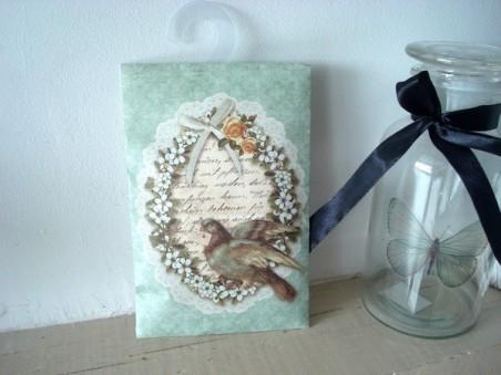Sachet parfumé à la senteur lys et au décor cosy