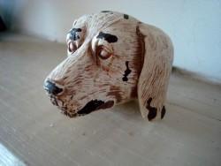 Bouton de porte en forme de tête de chien