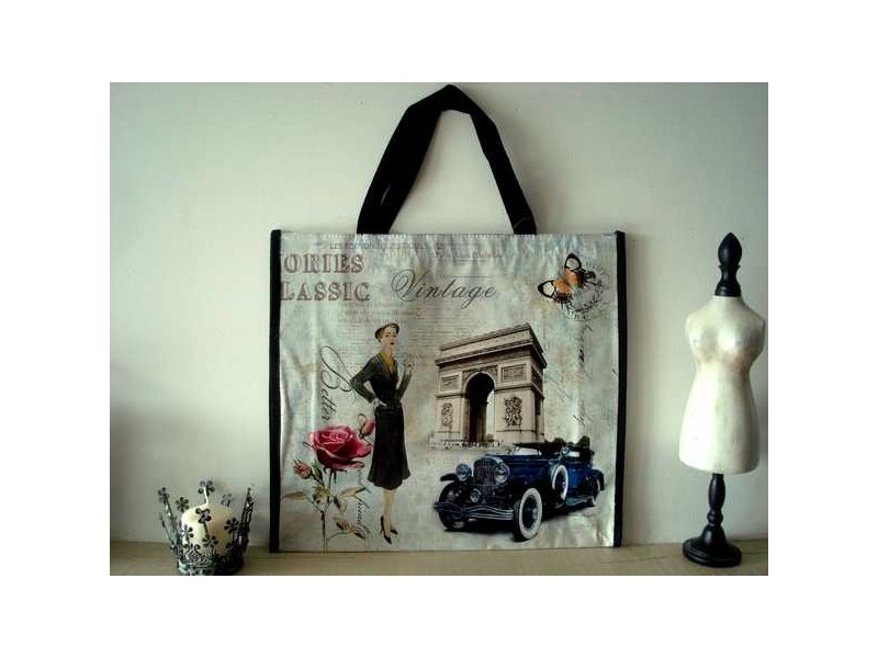"Sac shopping ""La parisienne"""