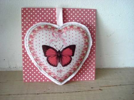 Suspension parfumée en forme de coeur