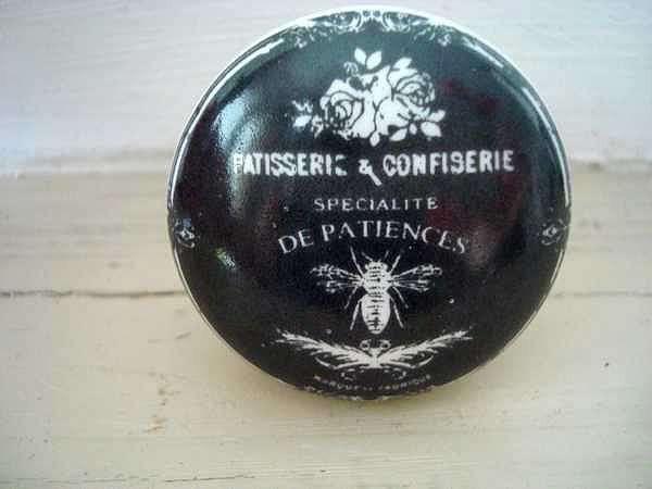 D co cuisine vend bouton de porte en porcelaine p tisserie for Combouton de porte cuisine