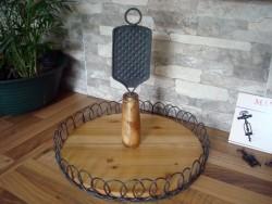 Plateau à fromage en bois style campagne chic