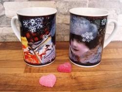 "Mug en céramique vintage ""Chocolat..."""