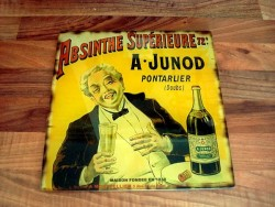 """Dessous de plat """"Absinthe Junod"""" style vintage"""