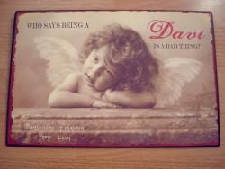 Plaque décorative ange au style rétro Gustavien