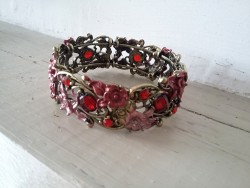 Bracelet fantaisie multicolore style baroque