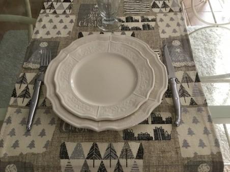 Chemin de table de Noël