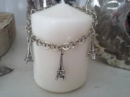 Bracelet pour femmes orné de Tours Eiffel