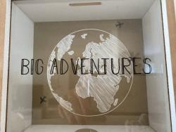 "Tirelire originale ""Big Adventures"""