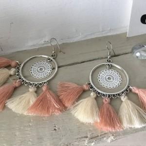 Boucles d'oreilles femmes style vintage pas cher