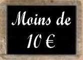 Idées cadeaux à moins de 10 euros